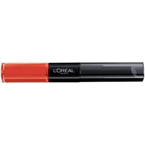 L'Oreal Paris Infallible Perpetual Apricot Pro Last 2 Step Lip Gloss Perspective: front