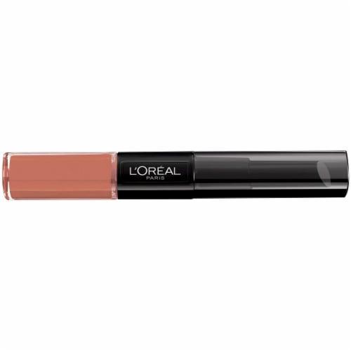 L'Oreal Paris Infallible Pro Last Never Ending Nutmeg 2 Step Lipstick Perspective: front