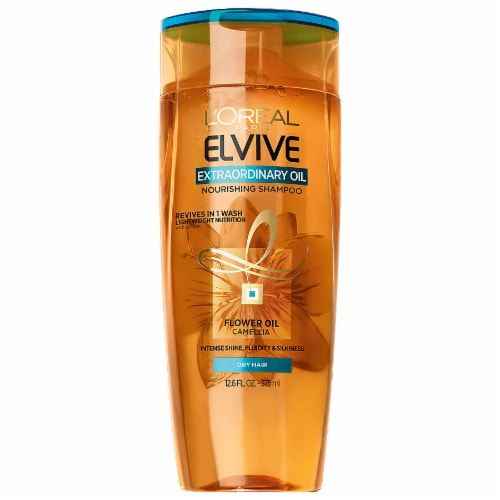 L'Oreal Paris Elvive Extraordinary Oil Nourishing Shampoo Perspective: front