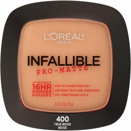 L'Oreal Infallible Pro-Matte True Beige Powder Perspective: front