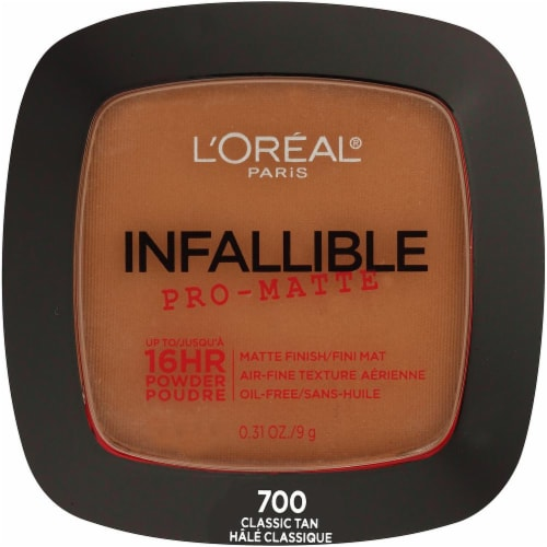 L'Oreal Infallible Pro-Matte Powder Foundation - Classic Tan Perspective: front
