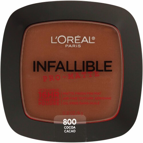 L'Oreal Infallible Pro-Matte Powder Foundation - Cocoa Perspective: front