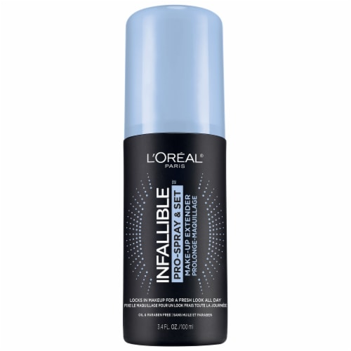 L'Oreal Paris Infallible Makeup Extender Oil-Free Setting Spray Perspective: front