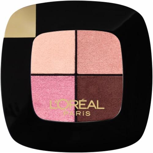 L'Oreal Paris Riche Quad Roses Eyeshadow Palette Perspective: front