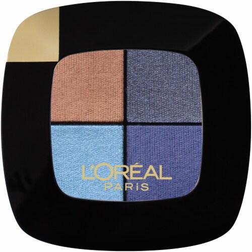 L'Oreal Paris Colour Riche Pocket Eyeshadow Palette - 108 Bleu Nuit Perspective: front