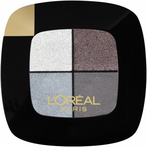 L'Oreal Paris Riche Eyeshadow Palette - 110 Silver Couture Perspective: front