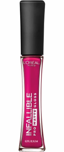 L'Oreal Paris Infallible Pro Matte 304 Rebel Rose Lip Gloss Perspective: front