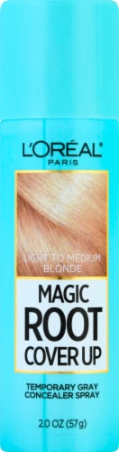L'Oreal Paris Magic Root Cover Up Temporary Gray Concealer Spray - Light to Medium Blonde Perspective: front
