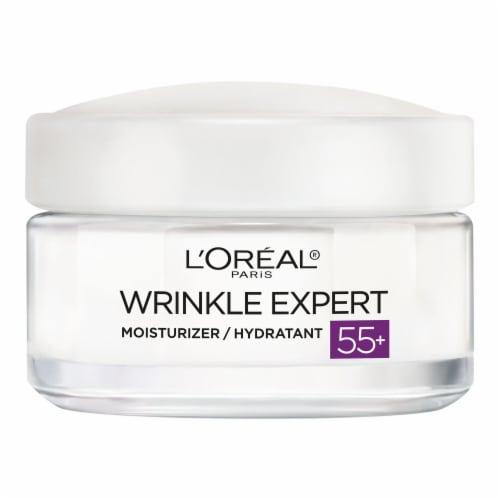 L'Oreal Paris Wrinkle Expert 55+ Moisturizer Perspective: front
