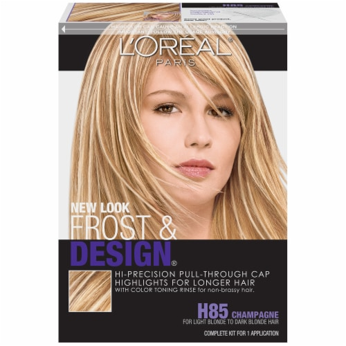 L'Oreal Frost & Design H85 Champagne Hair Color Perspective: front