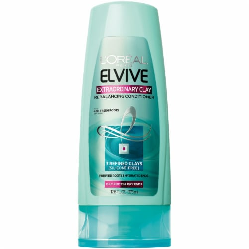 L'Oreal Paris Elvive Extraordinary Clay Rebalancing Conditioner Perspective: front