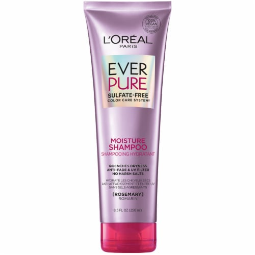 L'Oreal Paris Hair Expert EverPure Sulfate-Free Moisture Shampoo Perspective: front