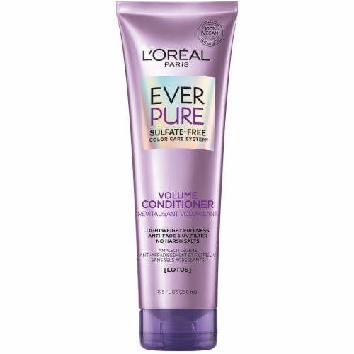 L'Oreal Paris Hair Expert EverPure Sulfate/Free Volume Conditioner Perspective: front