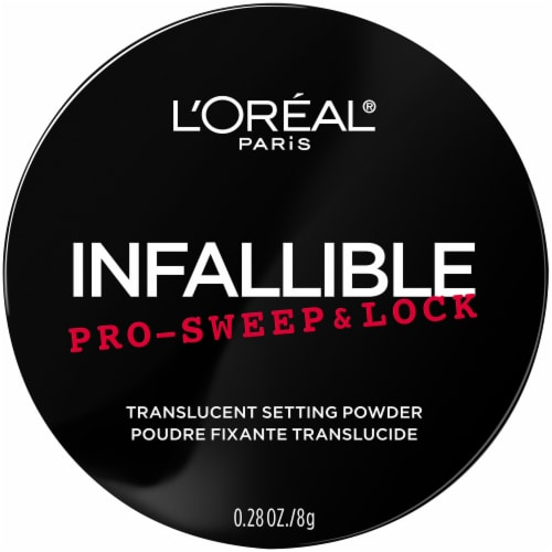 L'Oreal Paris Infallible Pro Sweep and Lock Translucent Loose Setting Powder Perspective: front