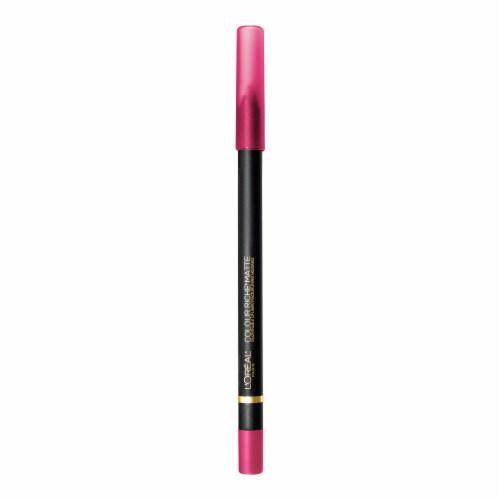 L'Oreal Paris Colour Riche 108 Best Mattes Matte Lip Liner Perspective: front
