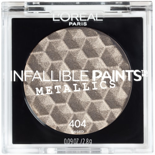 L'Oreal Paris Infallible Paints Metallics 404 Caged Eye Shadow Perspective: front