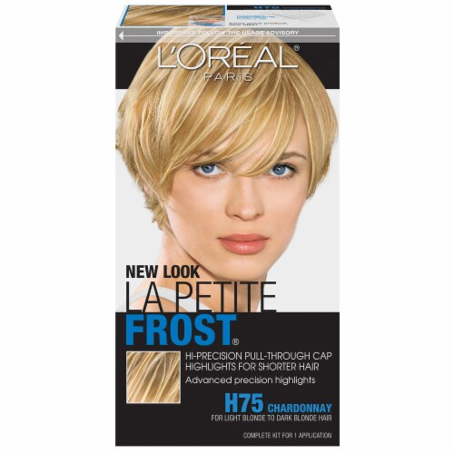 L'Oreal La Petite H75 Frost Chardonnay Hair Color Perspective: front