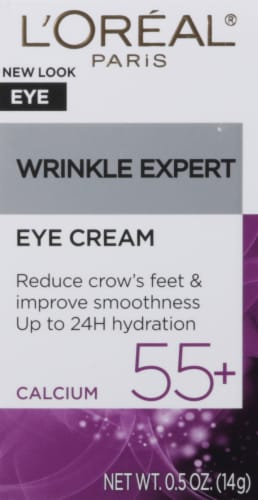 L'Oreal Paris Wrink Expert 55+ Anti-Wrinkle Eye Cream Perspective: front
