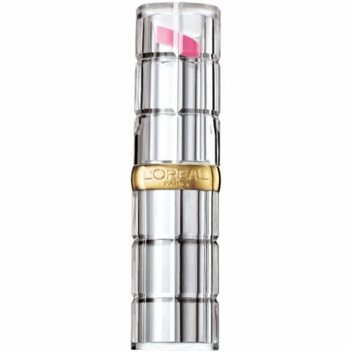 L'Oreal Paris Colour Riche Glazed Pink Shine Lipstick Perspective: front