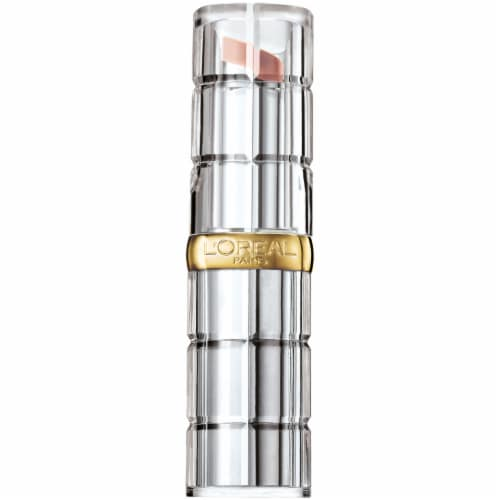 L'Oreal Paris Colour Riche Glossy Fawn Shine Lipstick Perspective: front