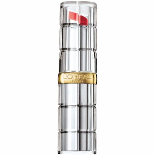 L'Oreal Paris Colour Riche Enamel Red Shine Lipstick Perspective: front