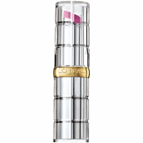 L'Oreal Paris Colour Riche Gleaming Plum Shine Lipstick Perspective: front