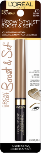 L'Oreal Paris Brow Stylist Boost & Set Blonde Volumizing Brow Mascara Perspective: front