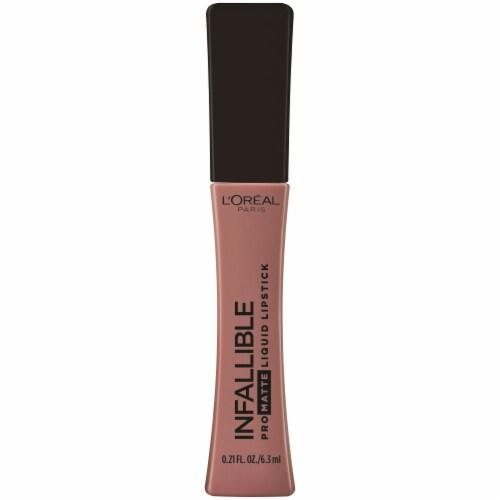 L'Oreal Paris Infallible Pro-Matte Shake Down Liquid Lipstick Perspective: front