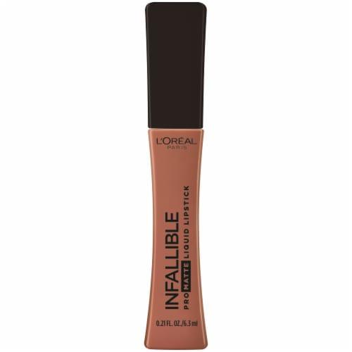 L'Oreal Paris Infallible Pro-Matte Cowboy Liquid Lipstick Perspective: front