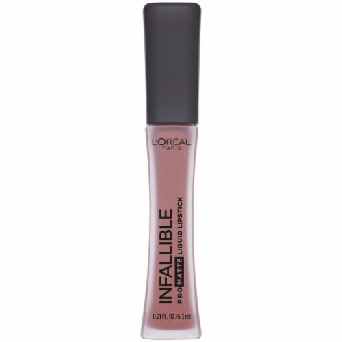L'Oreal Paris Infallible Pro-Matte Angora Liquid Lipstick Perspective: front