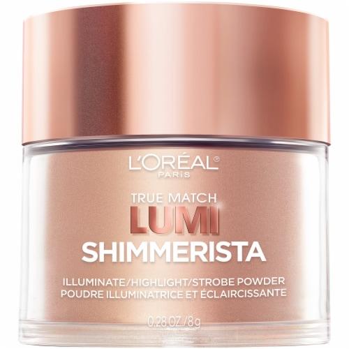 L'Oreal Paris True Match Lumi Shimmerista Sunlight Illuminate & Highlight Strobe Powder Perspective: front