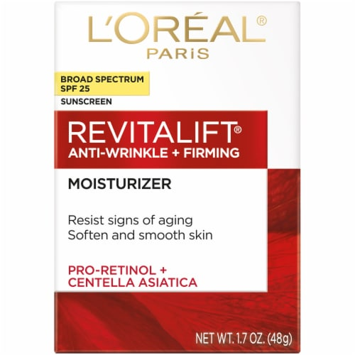 L'Oreal Paris Revitalift Anti-Wrinkle + Firming Moisturizer SPF 25 Perspective: front