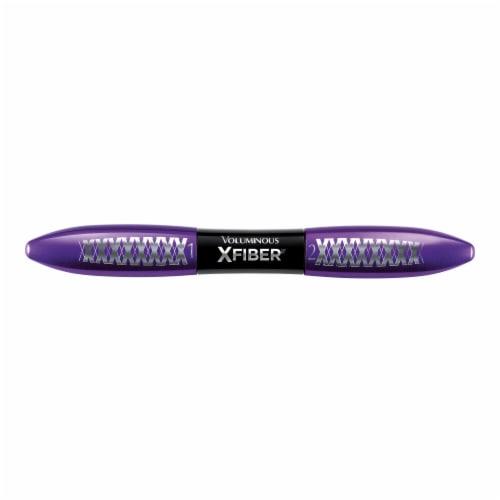 L'Oreal Paris Voluminous X Fiber Blackest Black Washable Mascara Perspective: front
