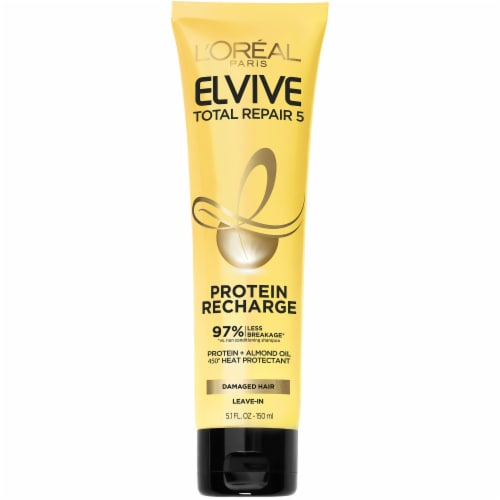 L'Oreal Paris Elvive Total Repair 5 Protein Recharge Treatment Perspective: front