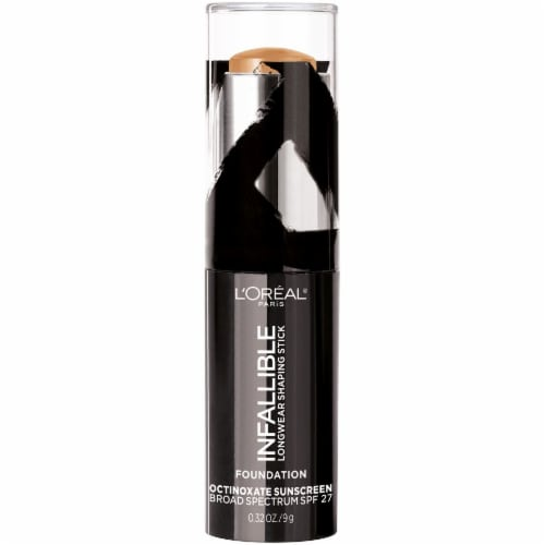 L'Oreal Paris Infallible Longwear Shaping Stick Honey Foundation Perspective: front