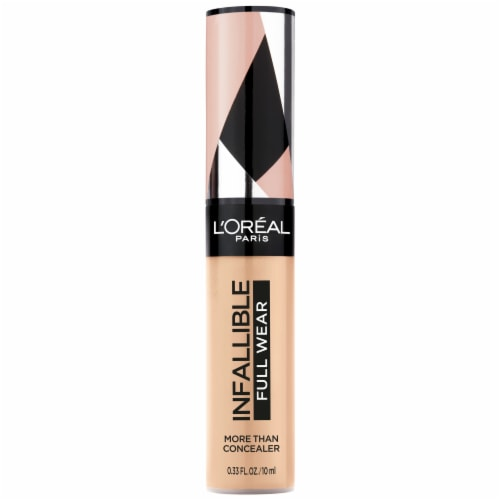 L'Oreal Paris Infallible 24-Hour Fresh Wear Oatmeal 345 Liquid Foundation Perspective: front