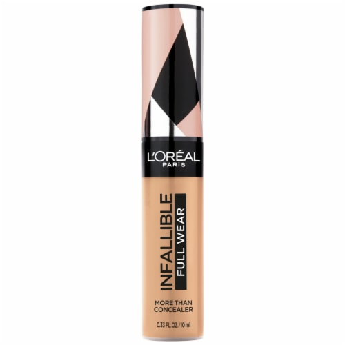 L'Oreal Infallible Full Wear 385 Amber Waterproof Concealer Perspective: front