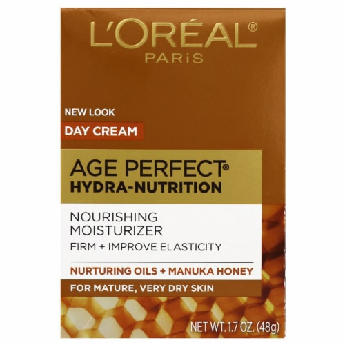 L'Oreal Paris Age Perfect Hydra-Nutrition Nourishing Day Cream Moisturizer Perspective: front