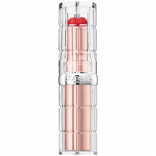 L'Oreal Paris Colour Riche Plump & Shine 102 Watermelon Sheer Lipstick Perspective: front