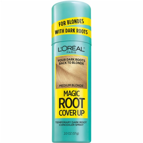 L'Oreal Paris Medium Blonde Magic Root Cover Up Spray Perspective: front