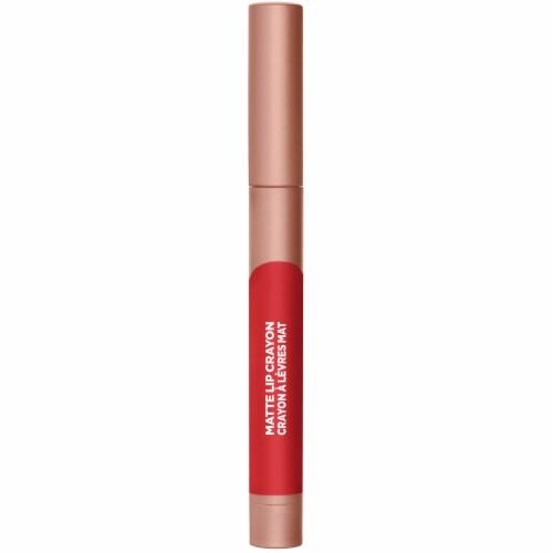 L'Oreal Paris Infallible Matte Caramel Rebel Lip Crayon Perspective: front