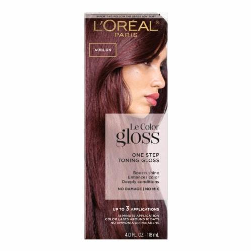 L'Oreal Paris Le Color Gloss Auburn Temporary Hair Color Perspective: front