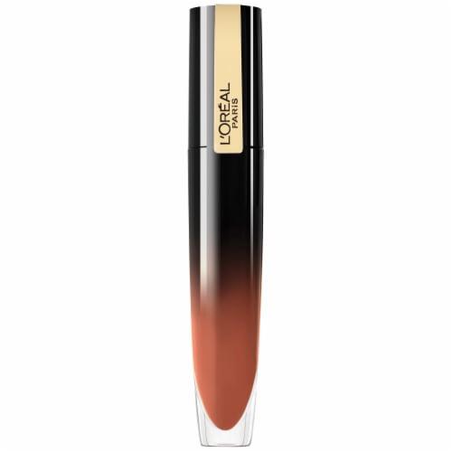 L'Oreal Paris Brilliant Signature Be Independent Lip Stick Perspective: front