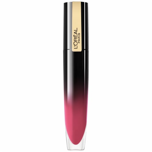 L'Oreal Paris Brilliant Signature Be Cheerful Shiny Lip Stain Lipstick Perspective: front