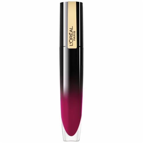 L'Oreal Paris Brilliant Signature Be Rebellious Shiny Lip Stain Lipstick Perspective: front
