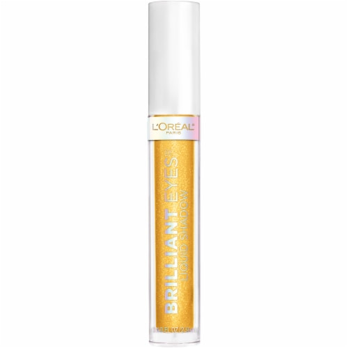 L'Oreal Paris Brilliant Eyes Crown Gold Shimmer Liquid Eye Shadow Perspective: front