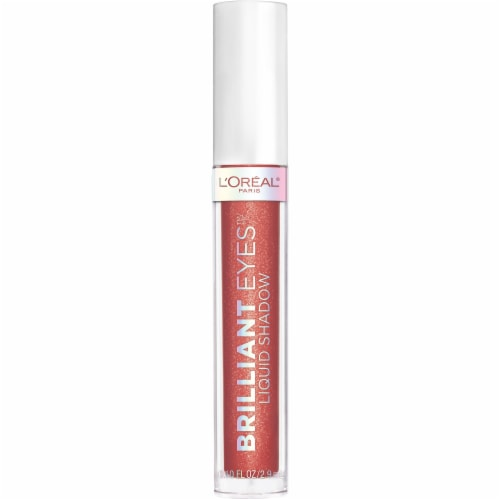 L'Oreal Paris Brilliant Eyes Radiant Ruby Shimmer Liquid Eye Shadow Perspective: front