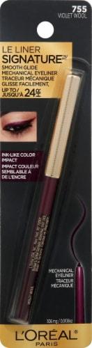 L'Oreal Paris Le Liner Signature Violet Wool Mechanical Eyeliner Perspective: front