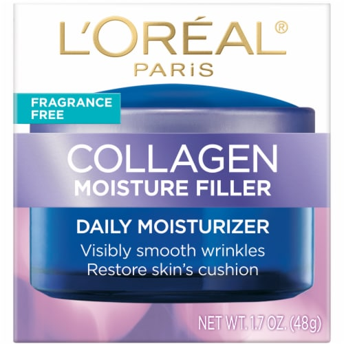 L'Oreal Paris Collagen Moisture Filler Daily Moisturizer Perspective: front