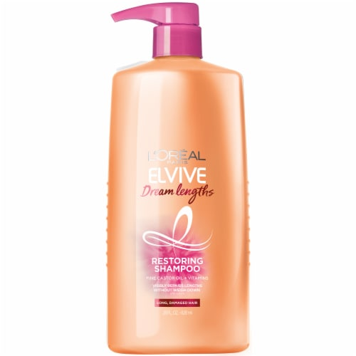 L'Oreal Paris Elvive Dream Lengths Restoring Shampoo Perspective: front